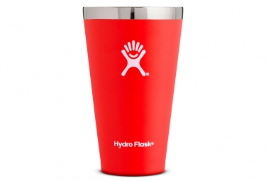 Gourde hydro flask true pint 473ml lava rouge