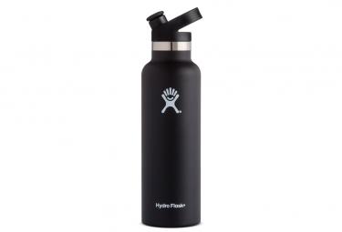 Gourde hydro flask standard mouth 532 ml noir