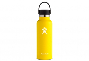 Gourde hydro flask w standard mouth 532ml lemon jaune