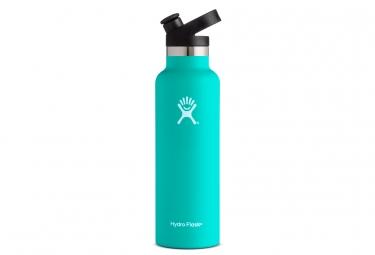 Gourde hydro flask standard mouth sport cap 621ml bleu ciel