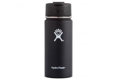 Gourde hydro flask wide mouth flid lid 473ml noir