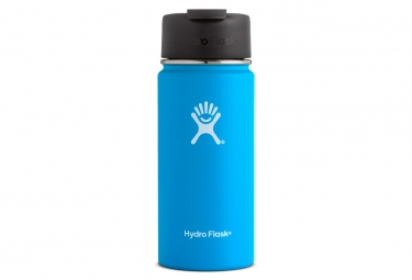 Gourde hydro flask wide mouth flid lid 473ml pacific bleu ciel