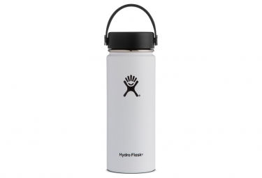 Gourde hydro flask flex cap 532ml blanc