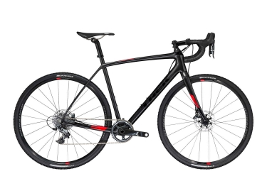 Velo de cyclocross trek boone 7 disc noir rouge 50 cm 158 164 cm