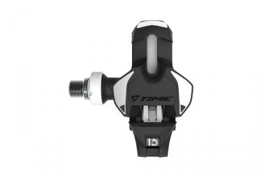 Paire de Pédales Xpro 15 Titane Carbone Noir / Blanc