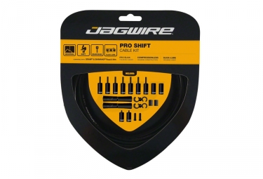 Jagwire Pro Shift Kit - Negro