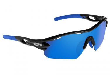 AZR Tour RX Sunglasses Black Mat - Blue