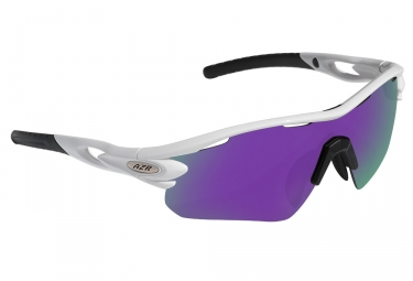 Gafas Azr Tour RX white purple Iridium / Miroir
