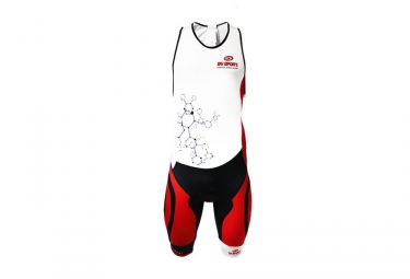 BV SPORT combination trisuit Triathlon 3x100 Black Red