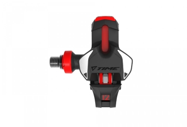 Time Xpro 12 Titan Carbon Clipless Pedals Black/Red