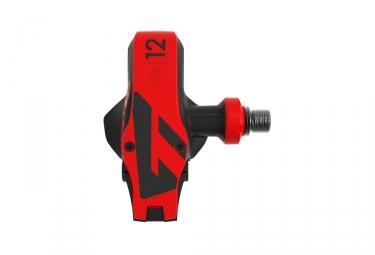 Paire de Pédales XPRO 12 Titane Carbone Noir / Rouge