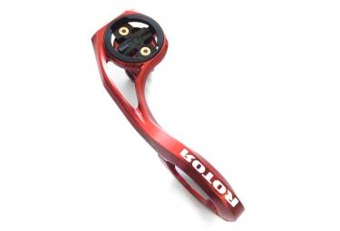 Support compteur Rotor Garmin et GoPro Rouge