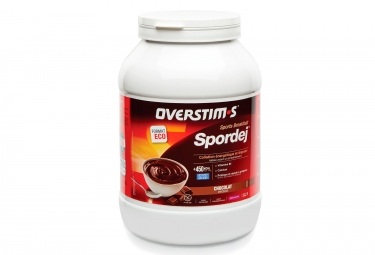 OVERSTIMS SPORDEJ Energy Drink Chocolate 1.5kg