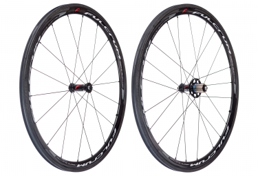 paire de roues fulcrum racing quattro carbon 9x100mm 9x130mm corps campagnolo