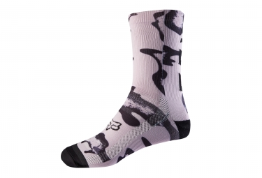 Fox Trail Women's Socks 8'' Pink Black