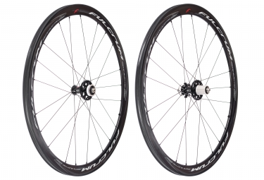 paire de roues fulcrum racing quattro carbon disc centerlock 9x100mm 9x130mm corps s
