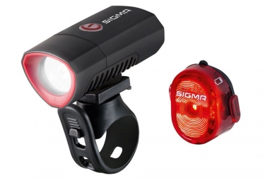 Sigma Buster 300 / Nugget II Flash Light Set Black
