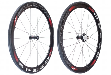 paire de roues fulcrum speed 55 cult ceramique boyau corps shimano sram