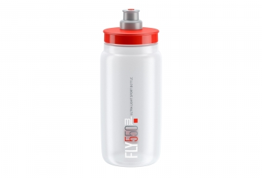 Elite Fly Bottle 550ml Clear Red
