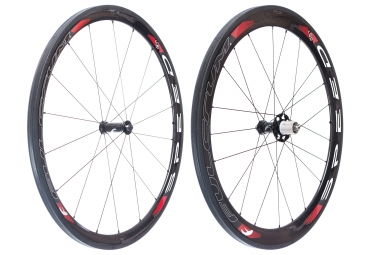 Paire de roues fulcrum speed 40 cult ceramique boyau corps shimano sram