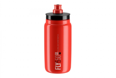 Bidon elite fly rouge