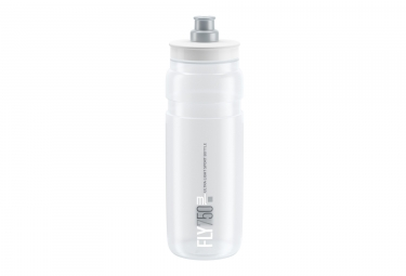 Bidon elite fly 750ml transparent