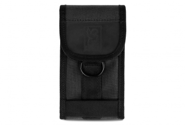 Chrome Phone Pouch Black/Black