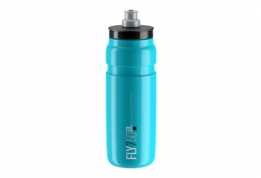 Bidon elite fly 750ml bleu