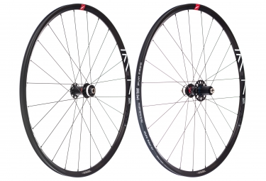 Paire de roues fulcrum racing 7 disc centerlock 12 15x100 12x142mm corps shimano sra