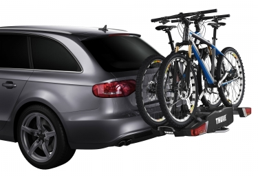 Porte-Vélo sur Boule d'Attelage Thule EasyFold pour 2 Vélos
