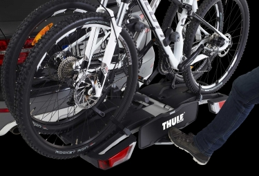 Portabici Gancio di Traino Thule EasyFold per 2 Bici