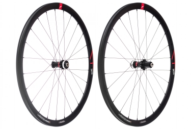 Paire de roues fulcrum racing 4 disc centerlock 12 15x100 12x142mm corps shimano sra