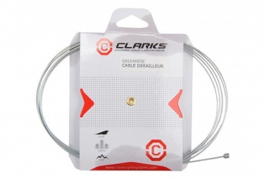 Clarks Cable Shifter Universal Silver