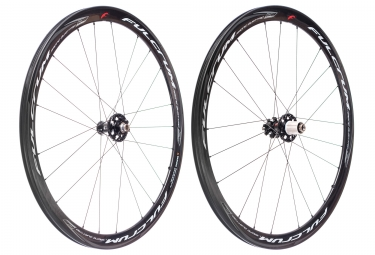 paire de roues fulcrum racing quattro carbon disc 6 trous 15x100mm 12x142mm corps sh