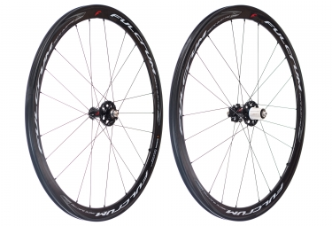 Paire de roues fulcrum racing quattro carbon disc 9x100mm 9x130mm corps shimano sram