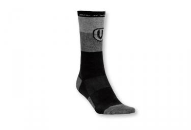Chaussettes hautes mondraker factory merino noir gris s