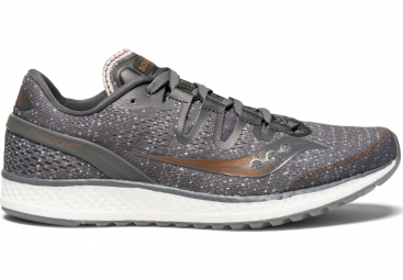 Chaussures running femme saucony freedom iso gris 41