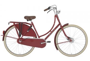 velo hollandais gazelle classic rouge 57 cm 170 185 cm
