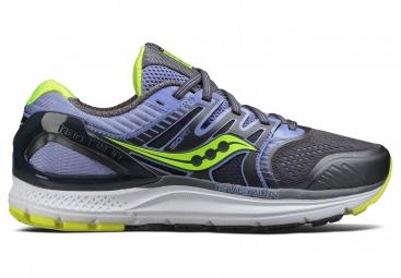 Chaussures de Running Femme Saucony Redeemer Iso 2 Gris / Jaune / Violet