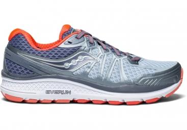 Chaussures running femme saucony echelon 6 gris bleu clair 40