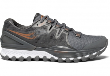 Chaussures running femme saucony xodus iso 2 gris 38