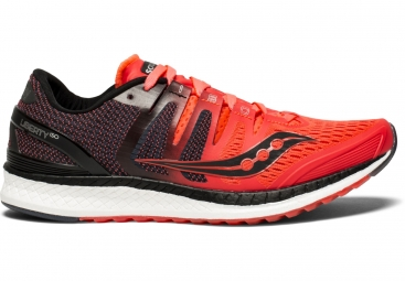 Chaussures running femme saucony liberty iso rouge noir gris 42