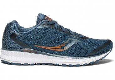 Chaussures running femme saucony breakthru 4 bleu fonce 39