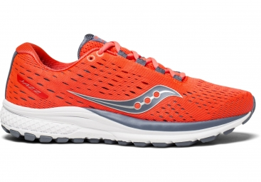 Chaussures running femme saucony jazz 20 orange gris 36
