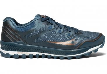 Chaussures running femme saucony peregrine 8 bleu fonce 37 1 2