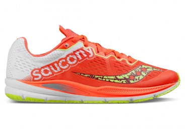 Chaussures running femme saucony fastwitch 8 rouge blanc 38