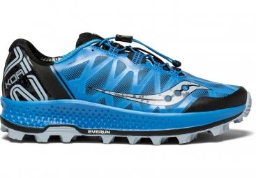 Chaussures running saucony koa st bleu noir 44