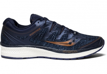 Chaussures running saucony triumph iso 4 bleu marine 41