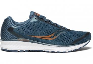 Chaussures running saucony breakthru 4 bleu fonce 41