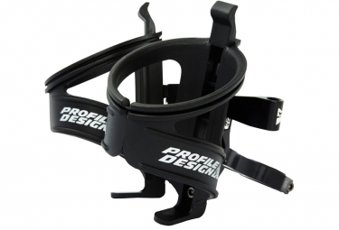 Support bidon profile design aqua rack black w co2 mount